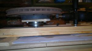 Шлифовальный круг из подручных материалов 1