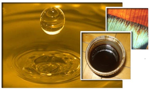 Олифа – это плёнкообразующее вещество, которое изготавливают из натуральных масел растительного происхождения
