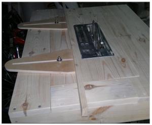 Пильный стол в сборе