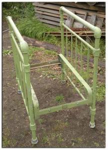 Станина для пильного стола из старой кровати