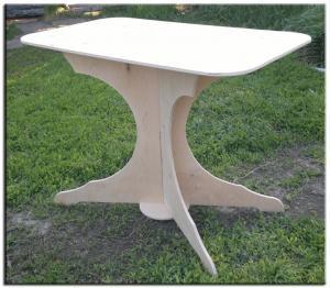 Стол для дачи из фанеры