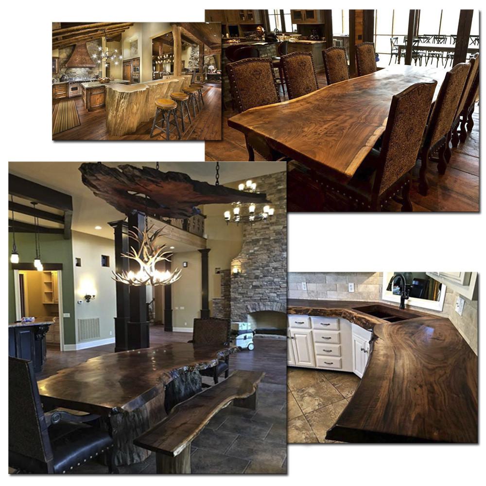 Мебель с использованием стволов деревьев