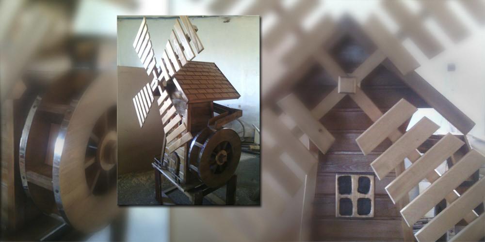 Деревянная мельница - Малые архитектурные формы