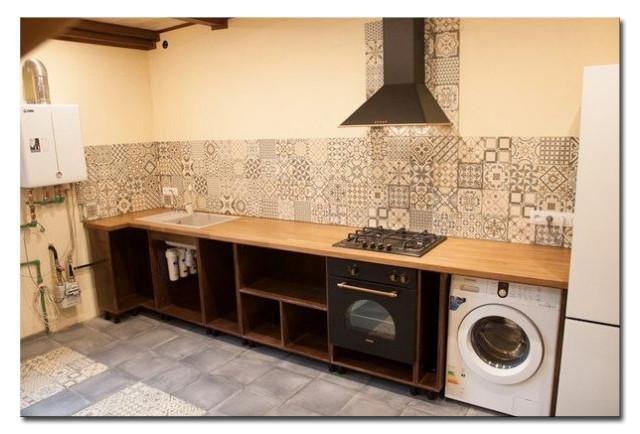 Кухня на заказ. Массив ясеня и сосны. Фото-5