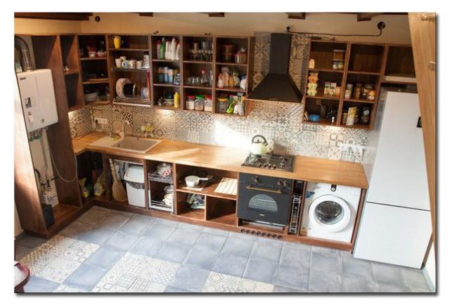 Кухня на заказ. Массив ясеня и сосны. Фото-6