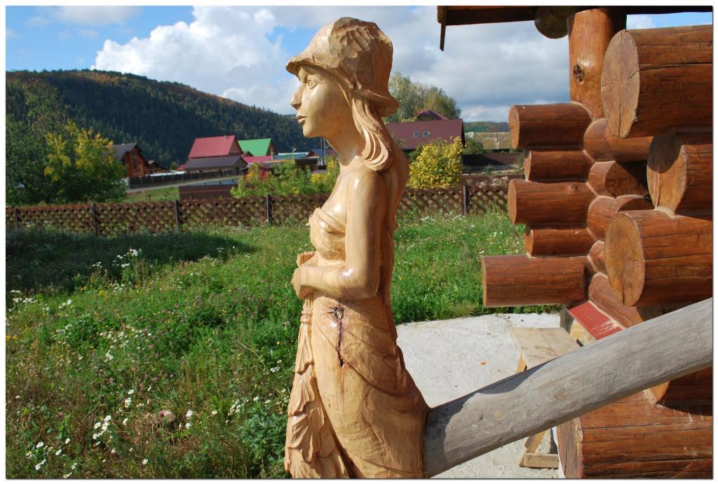 Резьба по дереву. Уличные скульптуры (3)