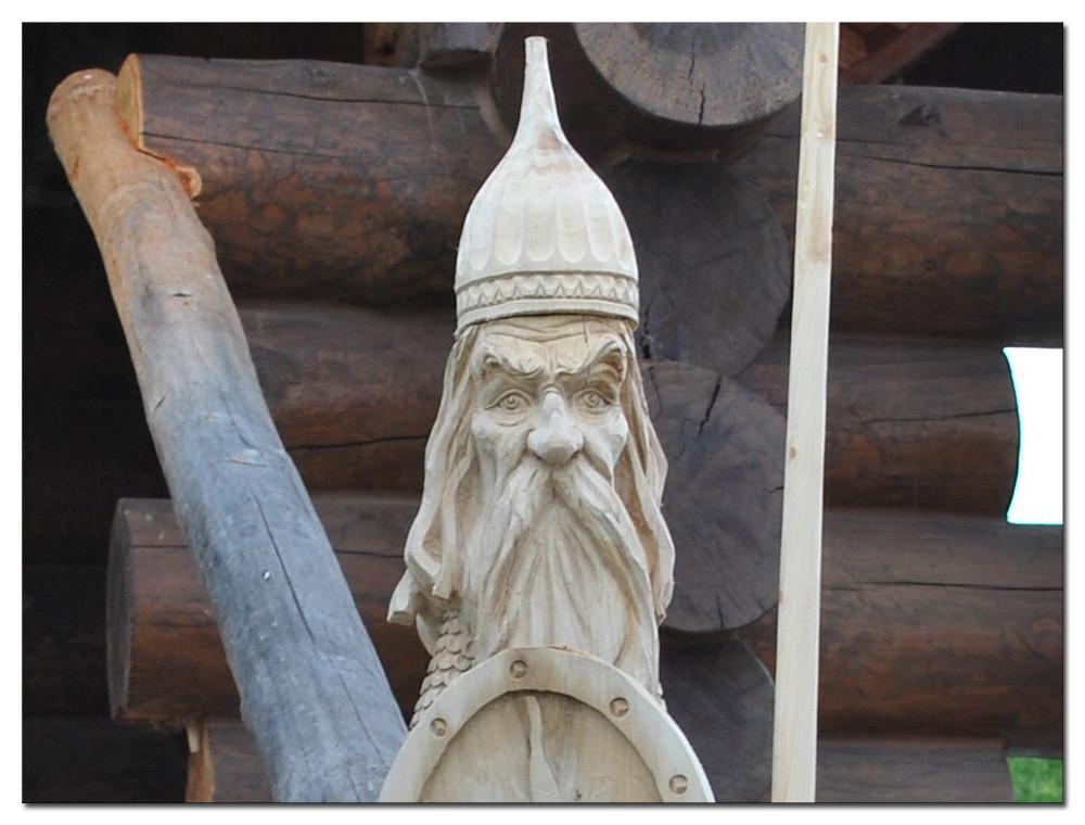 Резьба по дереву. Уличные скульптуры (6)