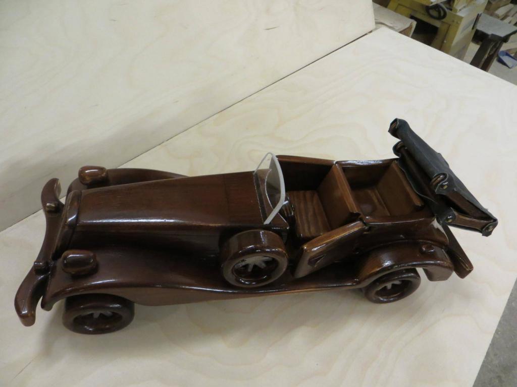 Деревянная модель (2)