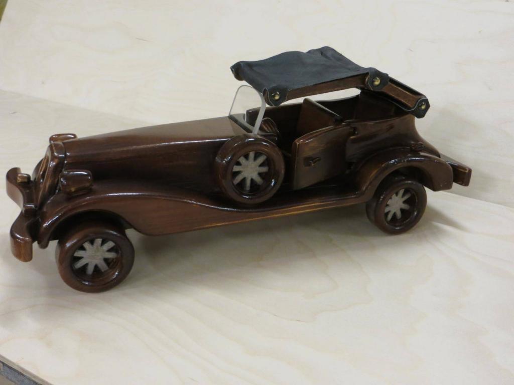 Деревянная модель (4)