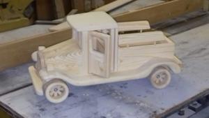Деревянная модель (6)