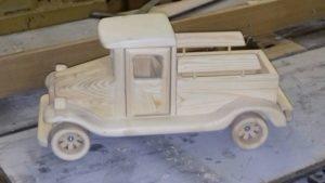 Деревянная модель (7)