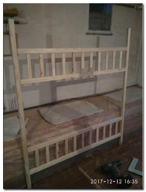 Детская кроватка Изготовление Фото 4