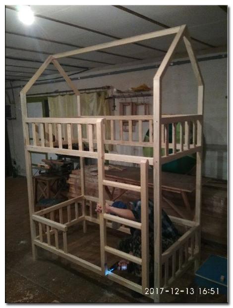 Детская кроватка Изготовление Фото 5
