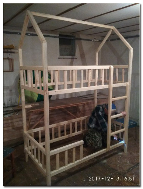 Детская кроватка Изготовление Фото 6