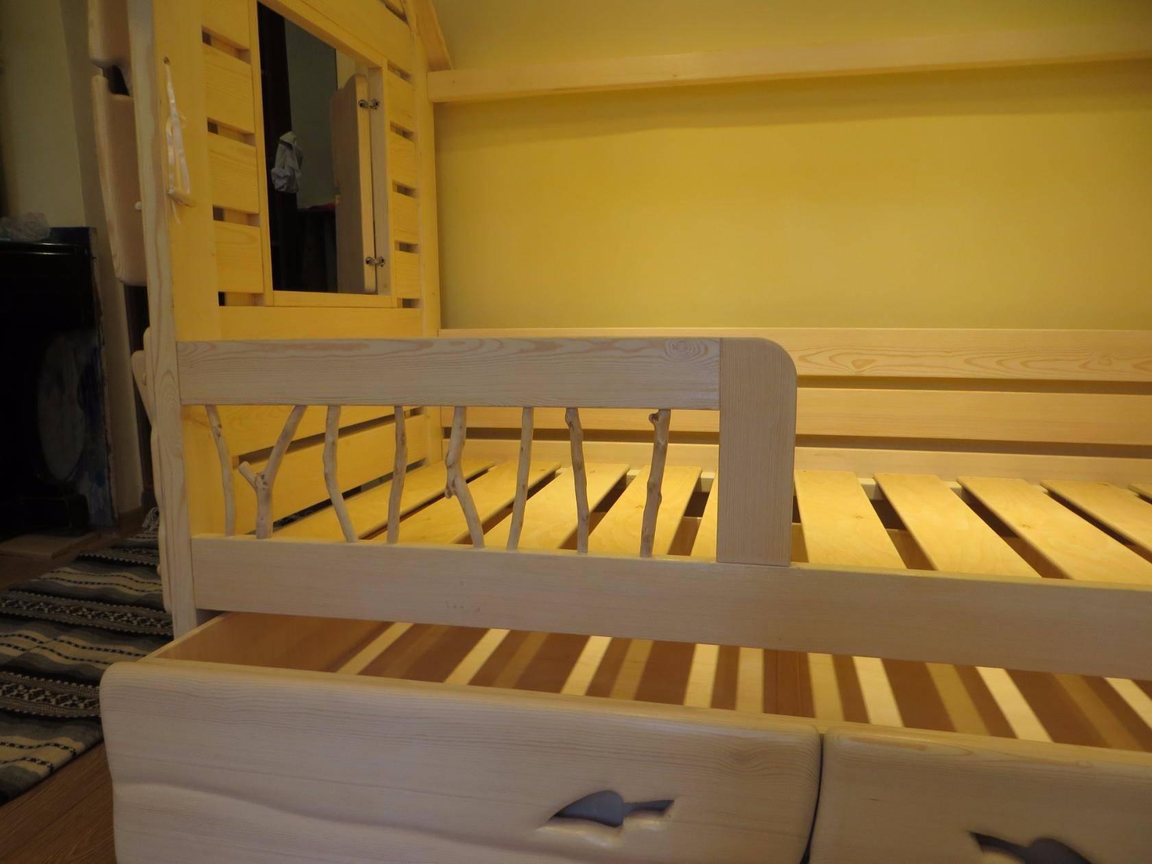 Детская кроватка для девочки Фото (13)