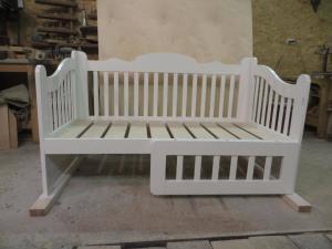 Детская кроватка для девочки Фото (3)