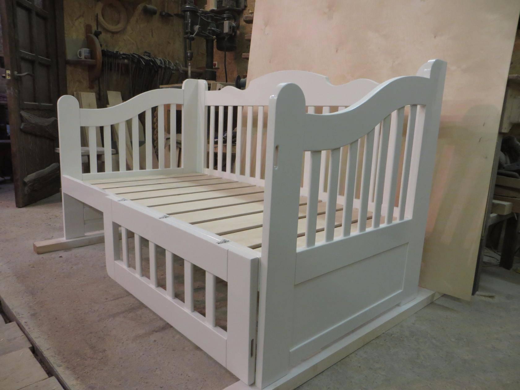 Детская кроватка для девочки Фото (5)