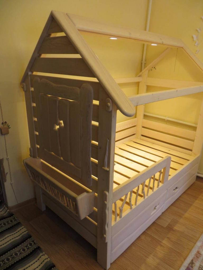 Детская кроватка для девочки Фото (6)