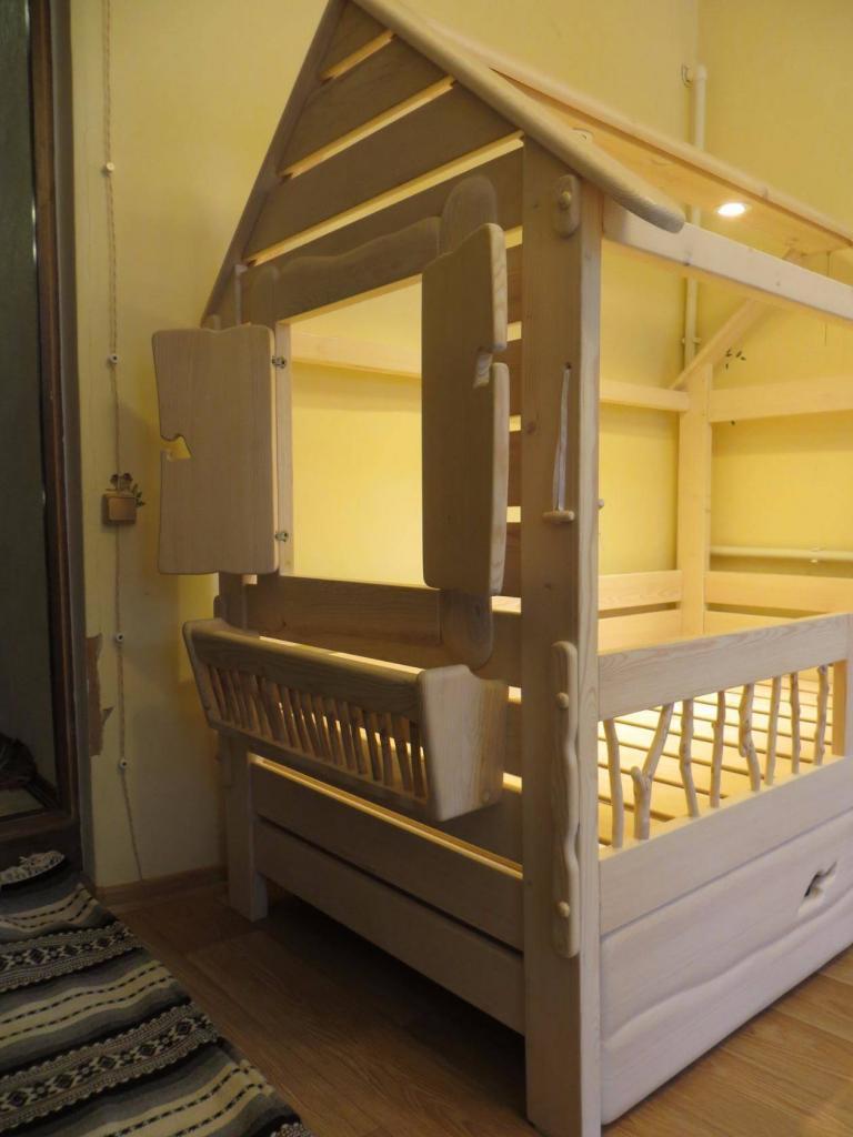 Детская кроватка для девочки Фото (7)