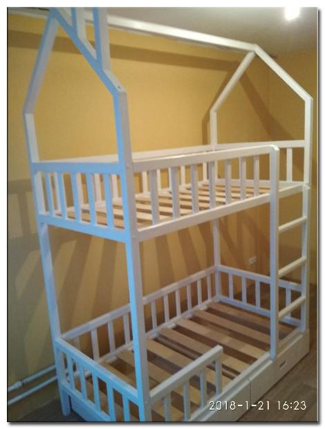 Двухярусная кроватка Фото 2
