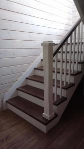 Лестница из дерева Фото (10)