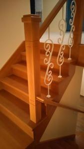 Лестница из дерева Фото (3)