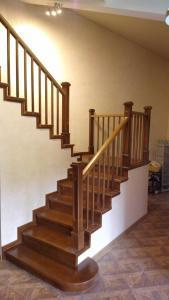 Лестница из дерева Фото (9)