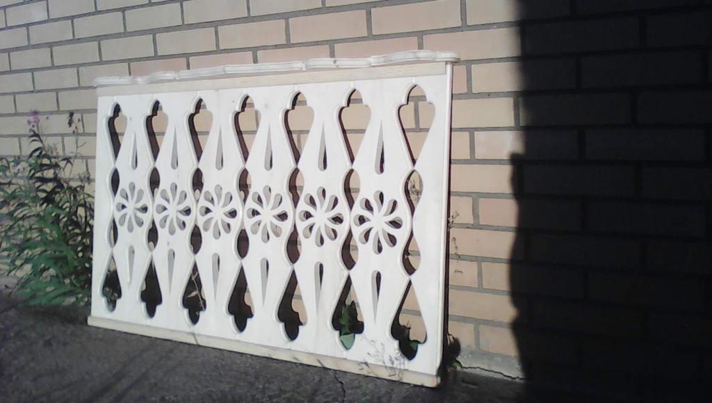 Резной забор (10)