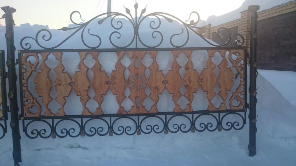 Резной забор (4)