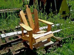 Садовая мебель из дерева Фото (2)