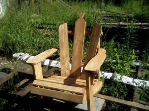 Садовая мебель из дерева Фото (3)