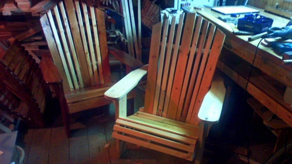 Садовая мебель из дерева Фото (5)