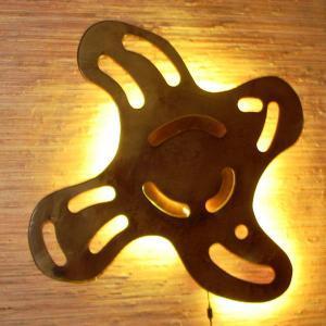Светильник из фанеры Фото (3)
