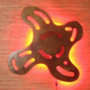 Светильник из фанеры Фото (4)