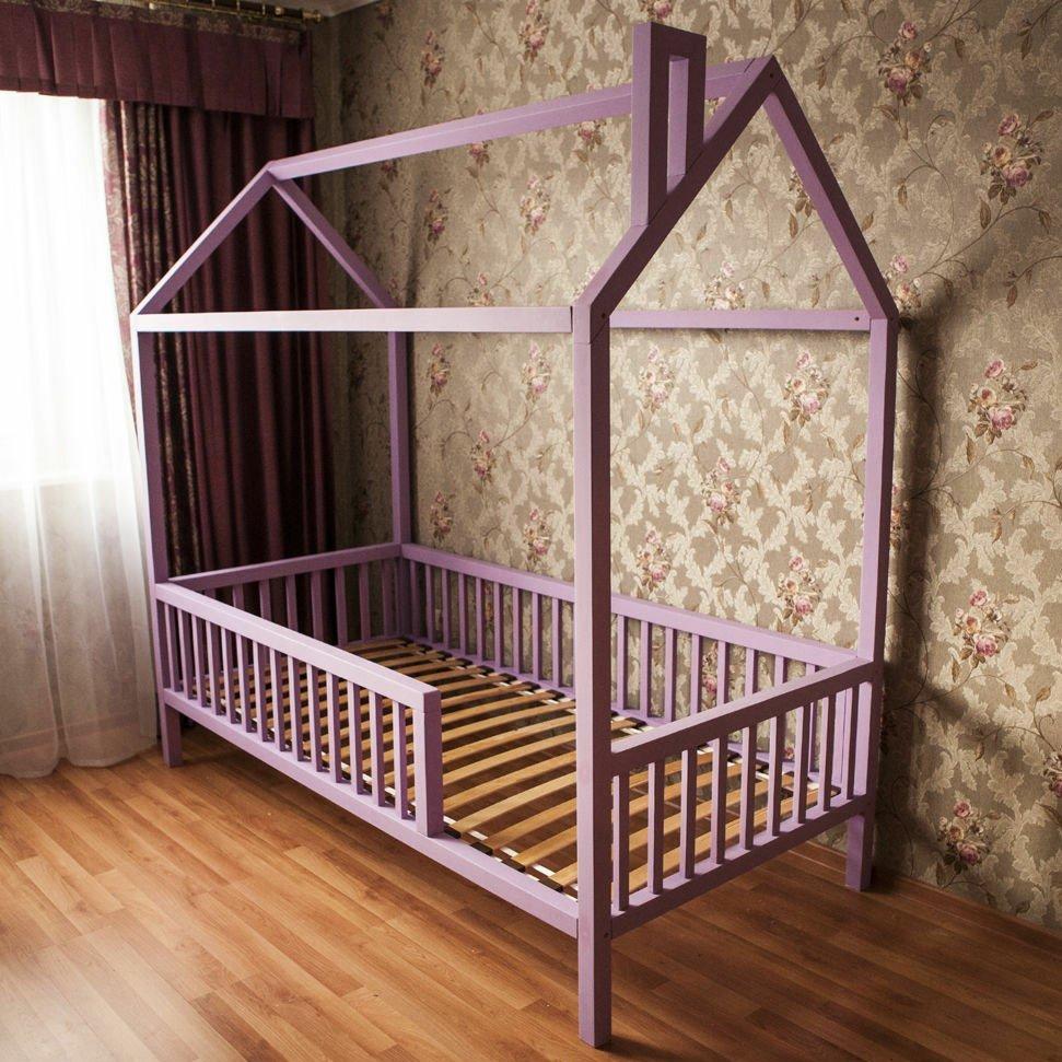 Детская кроватка-домик без ящиков