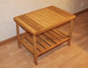 Журнальный столик из массива сосны (4)