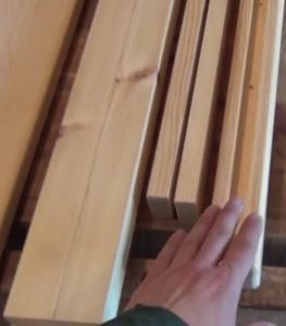 Бруски для изготовления подстолья деревянного стола своими руками