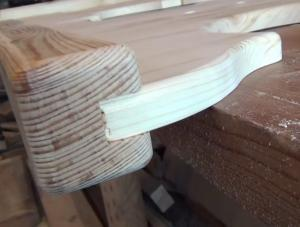 Укрепление деревянных ножек стола