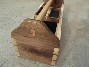 Ящик для инструментов из дерева. Фото (4)