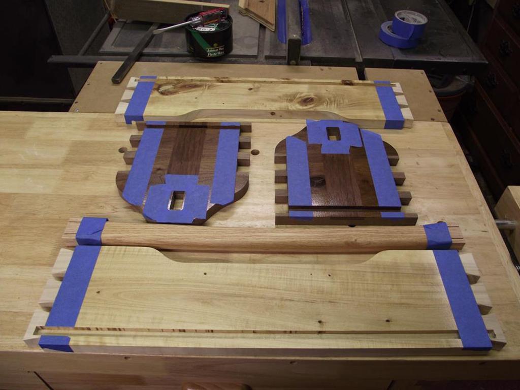 Ящик из дерева для инструментов. Фото (4)