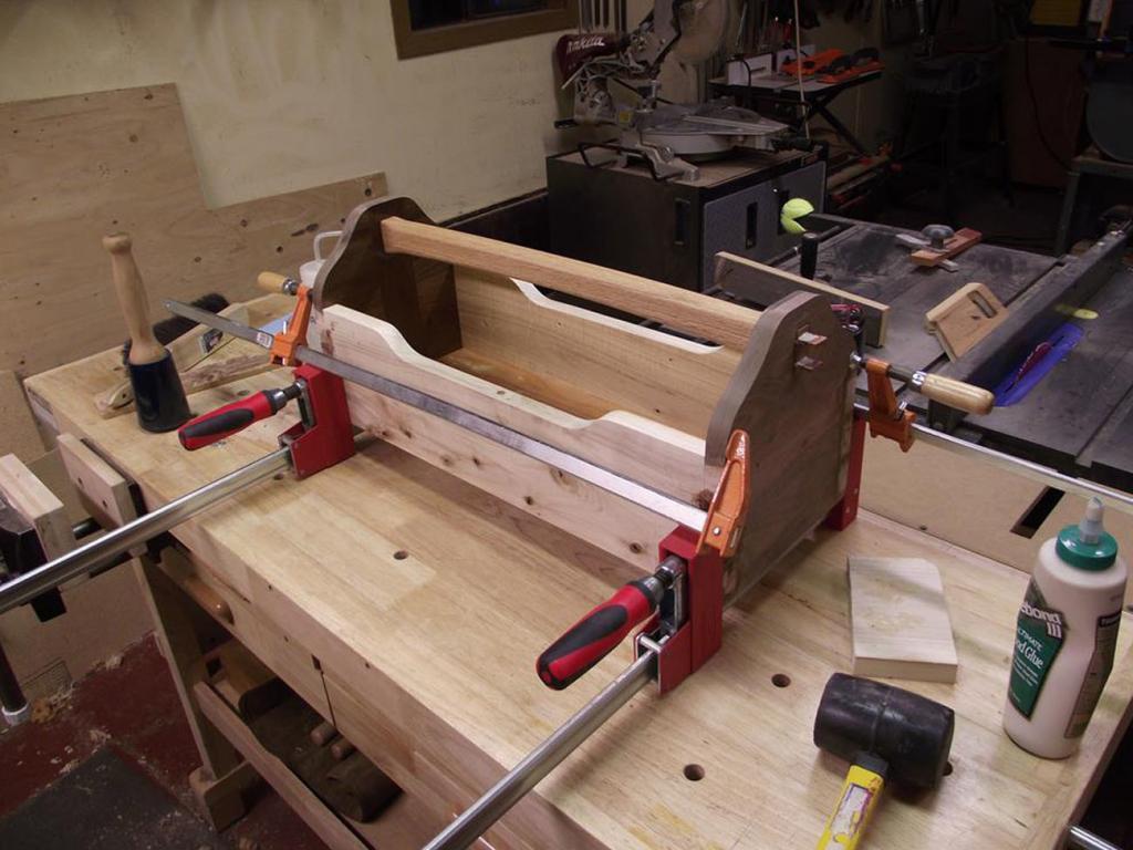Ящик из дерева для инструментов. Фото (5)