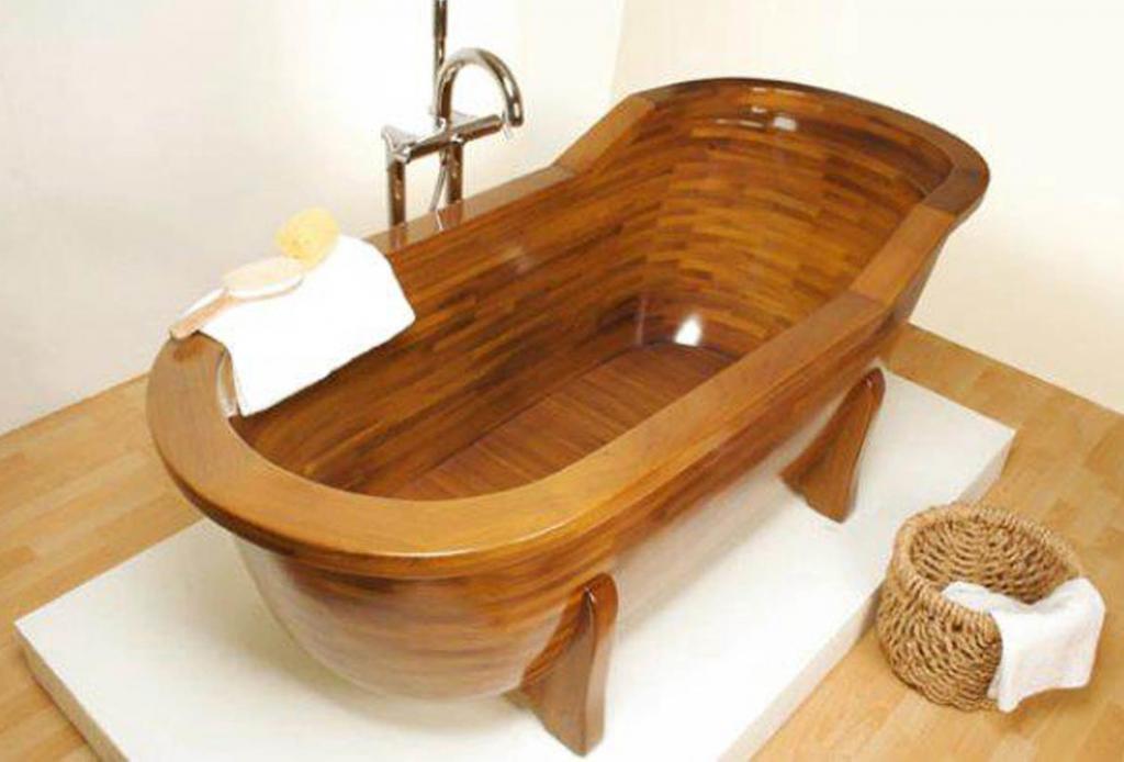 Деревянная ванна Фото 10