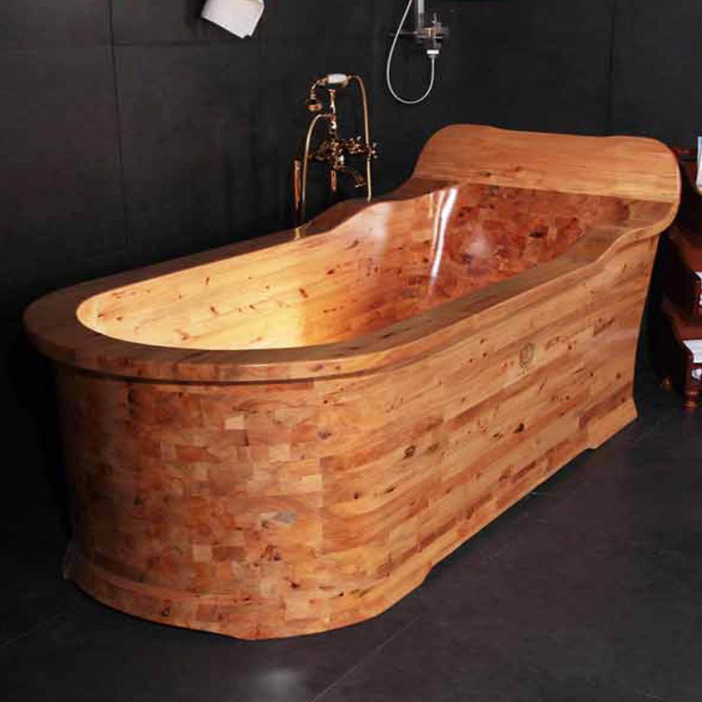 Деревянная ванна Фото 16