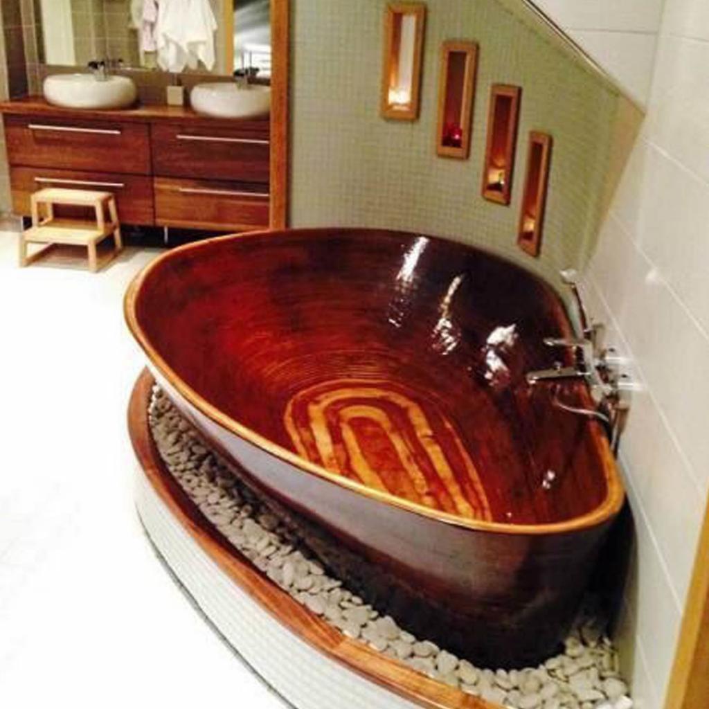 Деревянная ванна Фото 2