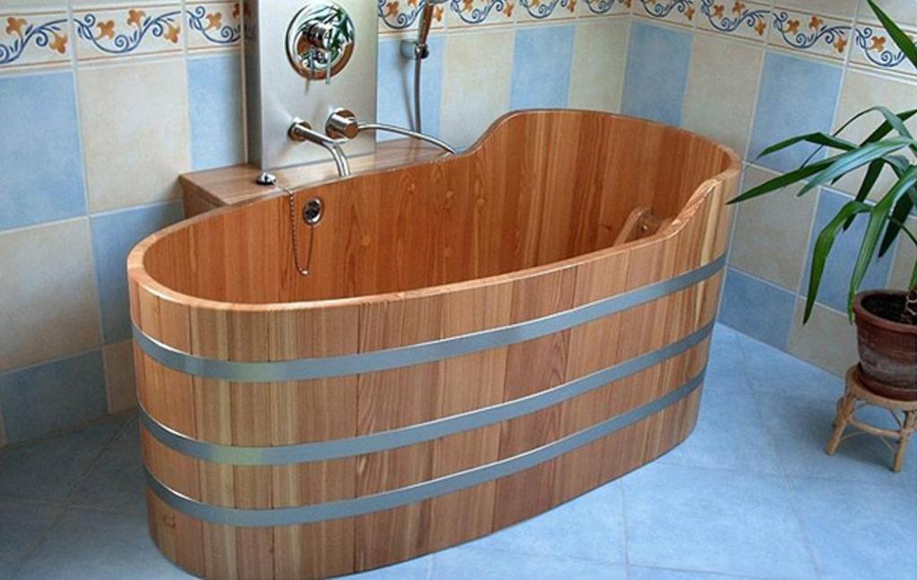 Деревянная ванна Фото 20
