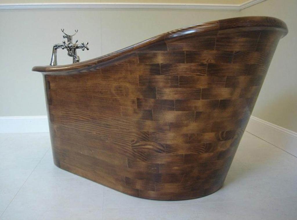 Деревянная ванна Фото 21