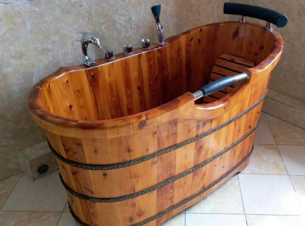 Деревянная ванна Фото 26