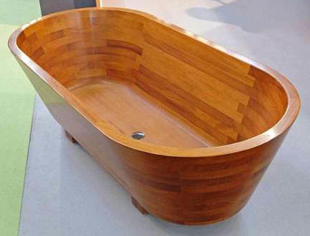 Деревянная ванна Фото 28