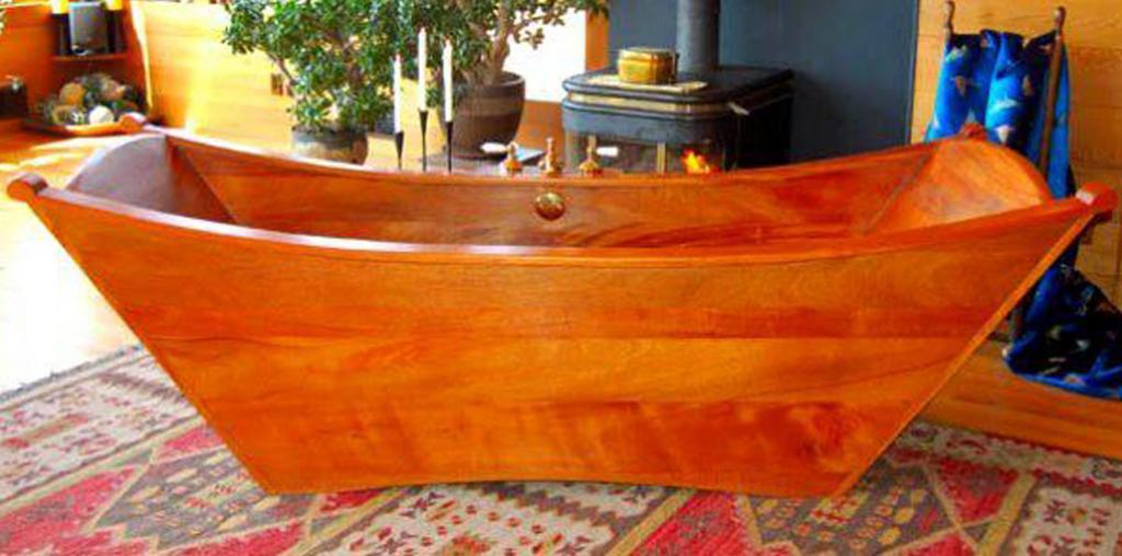 Деревянная ванна Фото 6