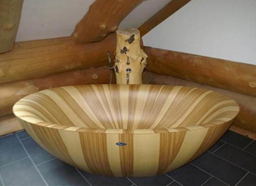 Деревянная ванна Фото 8